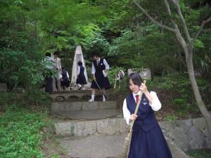 城北高女の碑1